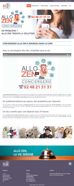 Allo Zen, Conciergerie à Bourges