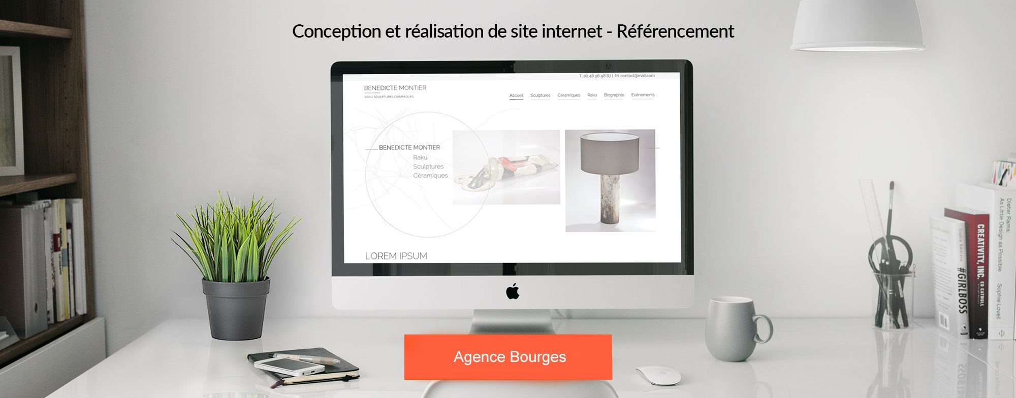 Cr ation de site internet bourges identit visuelle - Site internet a vendre pas cher ...